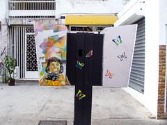 Fotografa (D11 Urbano) Tags: boy art girl poster stencil arte venezuela nios caracas urbano venezolano arteurbano d11 streetartvenezuela artvenezuela d11streetart arteurbanovenezuela d11art d11urbano
