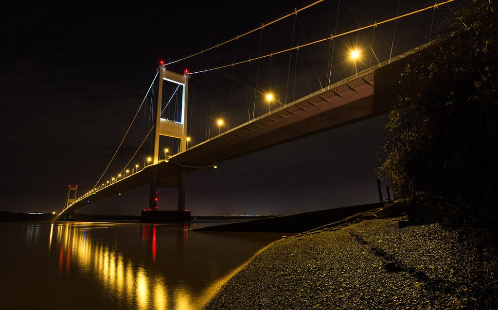 Second Severn Crossing, Bridge Over Bristol Channel ...