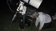 IMG_4939 JerryW backyard telescope (SBAUstars) Tags: camera backyard july 7 mount telescope astronomy connection 2016 10inch newtonian sbau jerryw astroguysb