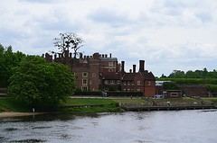 Hampton Court from the Thames (pjpink) Tags: hamptoncourt historicroyalpalaces palace historic surrey england britain uk may 2016 spring pjpink architecture