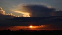 Cloudy sunset (Krzysztof D.) Tags: lubelskie polska poland polen zachdsoca sunset clouds chmury
