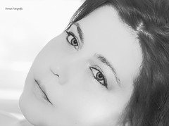 Its me (doreentine) Tags: women portait frau light schwarzweis blackwhite beauty