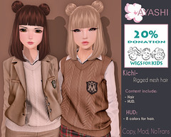 [^.^Ayashi^.^] Kichi hair special for Hair Fair 2016!!! (Ikira Frimon) Tags: life anime cute girl fashion hair blog costume outfit discount nice doll post mesh cosplay head sale blogger follow special sl event kawaii second medium lovely m3 sensuality bang hud quiff exclusive hairs rigged beautifully kawai sexually topknot tsg ayashi forelock lockofhair hairfair kichi ikira straightbangs frimon utilizator averagelength smoothfringe hairfair2016