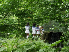 fotoshoot in verborgen tuin2 (michieljacker) Tags: rottedam rotjeknor park verborgentuin fotoshoot ted langebag nowenwow