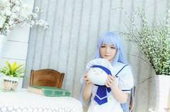 ka3 (Nhp xinh trai siu cp !) Tags: kafuu chino china japan vietnam cute cosplay sweet girl kawaii nyy chan portrait indoor gochuumon wa usagi desu ka student anime manga