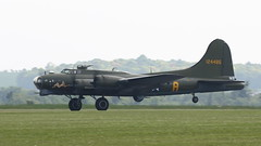 Duxford May2016_SallyB_03 (andys1616) Tags: boeing b17 flyingfortress sallyb memphisbelle 124485 gbedf usaf americanairshow duxford cambridgeshire may 2016