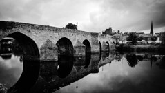 Old Brig (tobymeg) Tags: bridge reflection water scotland microsoft brig dumfries 640 nith lumia lte