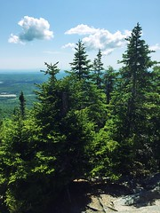 IMG_1737 (daach14@sbcglobal.net) Tags: usa vermont nature outdoor green photo trip travel sky blue woods trees forest beauty life moutain rock rocks view iphone6 panorama