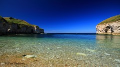 The crystal clear sea at North Landing.....Flamborough (Freespirit 1950) Tags: northsea northlanding