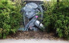 Prinsesse in the rough (HBA_JIJO) Tags: streetart urban graffiti vitry vitrysurseine art france wall mur peinture portrait paris94 spray woman bombing girl
