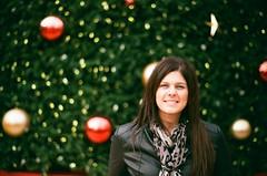 Christmas in San Francisco, Union Square (deanfuller2) Tags: christmas portrait tree film minolta fujifilm unionsquare srt201 proplusii