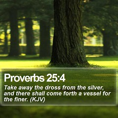 Daily Bible Verse - Proverbs 25:4 (daily-bible-verse) Tags: inspiration blessed worship jesussaves dailybibleverse