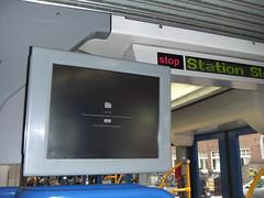 Amsterdam tram, error message (BdR76) Tags: amsterdam trolley tram screen monitor chrome electronics computererror displayscreen publiccomputererror googlechrome