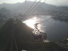 Vista area de Ro de Janeiro (silvinafrydlewsky) Tags: brazil tourism brasil ipod view streetphotography copacabana rodejaneiro