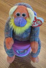 Happy 16th Birthday Yo (aka Bananas)!!! (Laura's Favorites) Tags: baby ice bag monkey babies you chocolate cream bean robins plush ty butter orangutan peanut beanie 31 baskin robbins flavors creams banananas