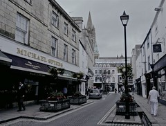 Route (ancientlives) Tags: uk england southwest june nikon europe cornwall cathedral streetphotography truro thursday 2016 nikonv1