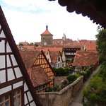 Rothenburg roofs