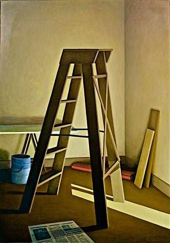 Nook with stepladder (1988) - Manuel Amado (1938)