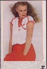 Courreges 1978 (4) (moogirl2) Tags: vintage retro vogue 70s 1978 supermodels fashions 70sstyle vintageads albertwatson courrges pattihansen vintagevogue vintagecourrges