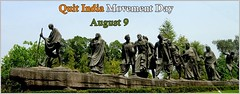 Quit India Movement Day (Official Gates) Tags: indiaday india quit quitday mahatmagandhi gandhi quitindia gandhiji quitindiaday