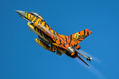 Tiger, Tiger! (Steve Cooke-SRAviation) Tags: 2015 f4phantom f16 fairford2016 riat redarrows aeroplane airplane airshow canonstevecooke display fairford jet mig sraviation vulcan warplanes
