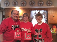 """Go Big Red"" 2015 Bowl Game gear 2 (cannellfan) Tags: me beckywurmclark judyclark huskers"