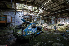 HDR-8246-52 (AntonyCASAFilms) Tags: cars abandoned rotting germany wire factory fabrik cable derelict ue urbex draht werke seile