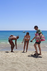 Milos (chilliandrice) Tags: canon 700d 24mm pancake milos greece beach sun sea island people paleochori