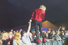 Michael Monroe ja yleisö