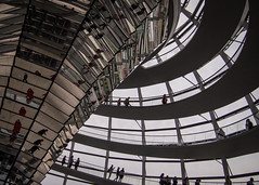 Reichstag Dome (Nathan Reading) Tags: berlin germany reichstag normanfoster dome bundestag historial