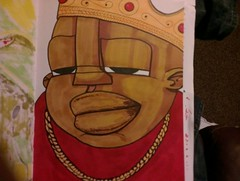 Biggie Smalls is the illest (bigchewp) Tags: streetart art graffiti mc hiphop imadethis rap rapper blackbook emcee biggiesmalls notoriousbig characterdesign flickrandroidapp:filter=none