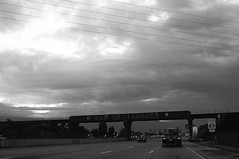 JPG Shooting While Driving (Lorne Thomas) Tags: california blackandwhite losangeles nikon highway sanbernardino nikond300 tokina2870f26