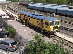 73912 at didcot (47604) Tags: didcot lynx amey trackmachine 73912