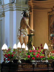 The Flagellation of Jesus (fajjenzu) Tags: sculpture religion statues malta crucifix procession spirituality salvation crucifixion redeemer redemption jesuschrist goodfriday holyweek ourladyofsorrows oursaviour passionofchrist cospicua agonyinthegarden betrayalofjudas thescourgingatthepillar