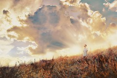 New day (Freddy Viera) Tags: morning light boy sunset portrait sky italy panorama me nature beautiful clouds self sunrise landscape spring twilight tramonto alone young atmosphere teenager autoritratto ritratto ragazzo