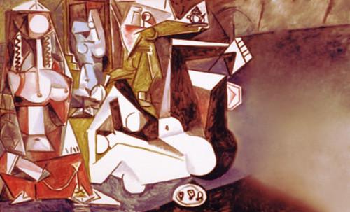 """Odaliscas (Mujeres de Argel) yuxtaposición y deconstrucción de Pablo Picasso (1955), síntesis de Roy Lichtenstein (1963). • <a style=""""font-size:0.8em;"""" href=""""http://www.flickr.com/photos/30735181@N00/8748001878/"""" target=""""_blank"""">View on Flickr</a>"""