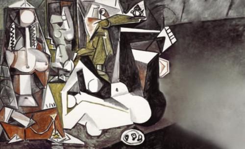 """Odaliscas (Mujeres de Argel) yuxtaposición y deconstrucción de Pablo Picasso (1955), síntesis de Roy Lichtenstein (1963). • <a style=""""font-size:0.8em;"""" href=""""http://www.flickr.com/photos/30735181@N00/8748002494/"""" target=""""_blank"""">View on Flickr</a>"""