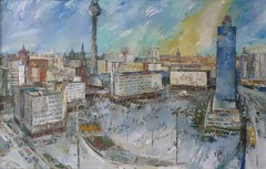 Kunst (SebastianBerlin) Tags: berlin germany painting alexanderplatz gemlde  2013 guesswhereberlin