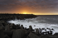 Torness Sunset (Mario Cugini) Tags: sunset seascape dunbar eastlothian torness