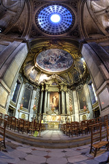 Spiritual enlightenment (Laurent photography) Tags: paris france church nikon europe interior paris6e eglisesaintsulpice d700