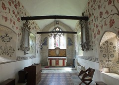 Painted Church (John of Witney) Tags: church interior victorian oxfordshire wallpaintings churchinterior stswithun comptonbeauchamp