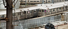Passing Trains--Queens (PAJ880) Tags: yards 7 trains queens mta sunnyside