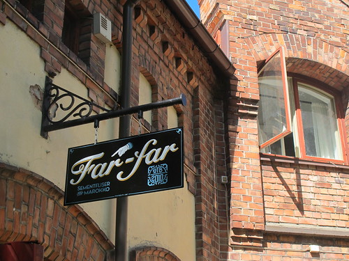 Signjob for Far-far Fliser in Oslo