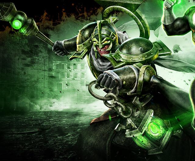 下一款爆紅的LOL 遊戲?!無限危機:奧術綠燈俠 神秘登場!