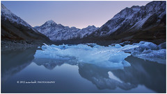 Ice Glow (Dylan Toh) Tags: newzealand lake landscape photography glacier dee mountcook hookervalley everlook tasmanvalleyreel