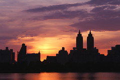 IMG_8312 (i Matos) Tags: nyc newyorkcity sunset sky ny newyork clouds buildings scenery view centralpark