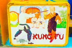 Fun with Kung Fu Lunchbox! (Ana Penelope) Tags: red orange yellow oregon portland monk kungfu lunchbox nikon1j2
