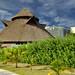 La forma a capanna di un hotel