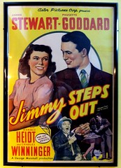 Jimmy Steps Out (daisy70) Tags: movie poster aug jimmystewart foresthills paulettegoddard 2013 daisy70 vividstriking kewgardenscinema jimmystepsout