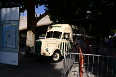 Morris Commercial Ice Cream Van in the shade, Southbank (Ackers- Schoolboy Hero!!!!) Tags: london ice cream southbank commercial morris van 2013